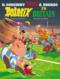 Libro ASTERIX IN BRITAIN - ASTERIX EN BRETAÑA