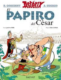 Libro ASTERIX: EL PAPIRO DEL CESAR