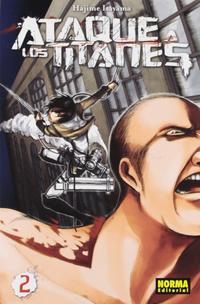 Libro ATAQUE A LOS TITANES 02