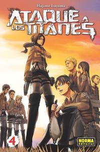 Libro ATAQUE A LOS TITANES 04