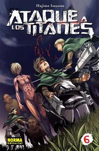 Libro ATAQUE A LOS TITANES 06