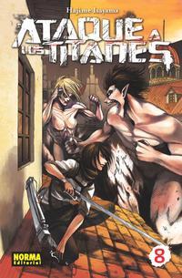 Libro ATAQUE A LOS TITANES 08