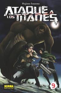 Libro ATAQUE A LOS TITANES 09