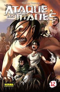 Libro ATAQUE A LOS TITANES 12