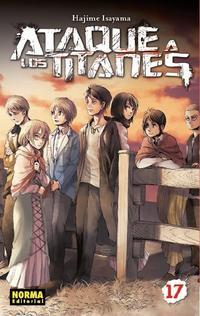 Libro ATAQUE A LOS TITANES 17