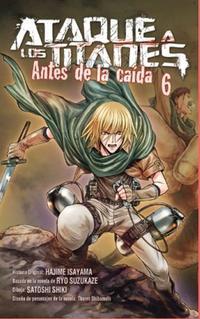 Libro ATAQUE A LOS TITANES ANTES DE LA CAIDA