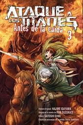 Libro ATAQUE A LOS TITANES: ANTES DE LA CAIDA 3