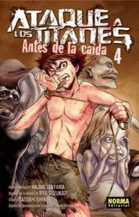 Libro ATAQUE A LOS TITANES: ANTES DE LA CAIDA 4