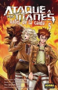 Libro ATAQUE A LOS TITANES: ANTES DE LA CAIDA 5