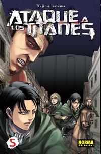 Libro ATAQUE DE LOS TITANES 05