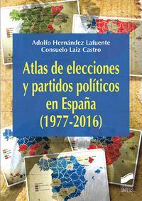 Libro ATLAS DE LAS ELECCIONES Y PARTIDOS POLÍTICOS EN ESPAÑA
