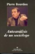 Libro AUTOANALISIS DE UN SOCIOLOGO