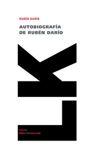 Libro AUTOBIOGRAFIA DE RUBEN DARIO