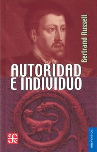 Libro AUTORIDAD E INDIVIDUO