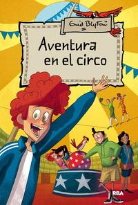 Libro AVENTURA EN EL CIRCO