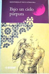 Libro BAJO UN CIELO PURPURA
