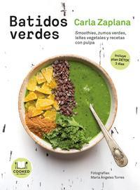 Libro BATIDOS VERDES: SMOOTHIES, ZUMOS, LEXES, VEGETALES Y SNACKS CON PULPA