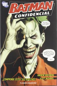 Libro BATMAN CONFIDENTIAL Nº 5