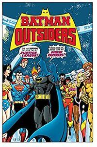 Libro BATMAN Y LOS OUTSIDERS Nº 1