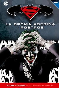 Libro BATMAN Y SUPERMAN - COL. NOV. GRAFICAS Nº 04: LA BROMA ASESINA Y ROSTROS