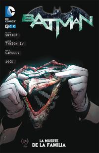 Libro BATMAN: LA MUERTE DE LA FAMILIA