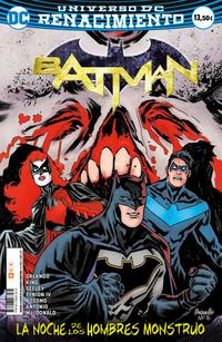 Libro BATMAN: LA NOCHE DE LOS HOMBRES MONSTRUO