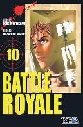 Libro BATTLE ROYALE Nº 10
