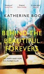 Libro BEHIND THE BEAUTIFUL FOREVERS