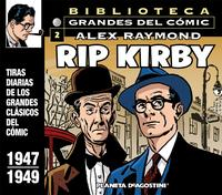 Libro BIBLIOTECA GRANDES DEL COMIC RIP KIRBY Nº 2