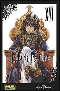 Libro BLACK BUTLER 16
