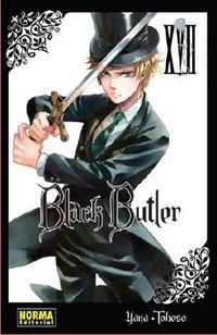 Libro BLACK BUTLER 17