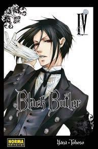 Libro BLACK BUTLER VOL.4