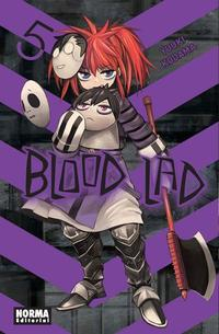 Libro BLOOD LAD 5