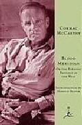 Libro BLOOD MERIDIAN: OR THE EVENING REDNESS IN THE WEST