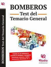 Libro BOMBEROS. TEST DEL TEMARIO GENERAL