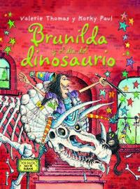 Libro BRUJA BRUNILDA Y EL DÍA DEL DINOSAURIO