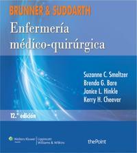 Libro BRUNNER & SUDDARTH. ENFERMERÍA MÉDICO-QUIRÚRGICA