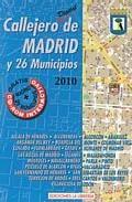 Libro CALLEJERO DE MADRID Y 26 MUNICIPIOS