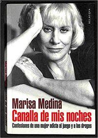 Libro CANALLA DE MIS NOCHES: CONFESIONES DE UNA MUJER ADICTA AL JUEGO Y A LAS DROGAS