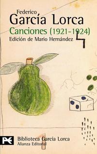 Libro CANCIONES: 1921-1924