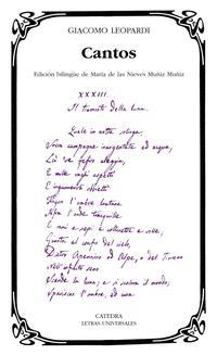 Libro CANTOS