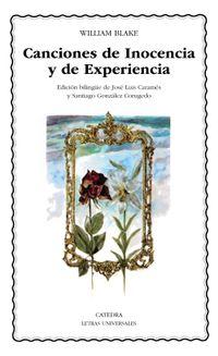 Libro CANTOS DE INOCENCIA; CANTOS DE EXPERIENCIA