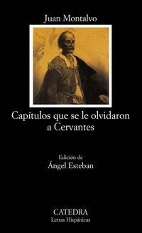 Libro CAPITULOS QUE SE LE OLVIDARON A CERVANTES