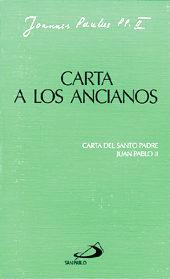 Libro CARTA A LOS ANCIANOS