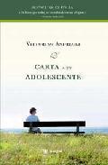 Libro CARTA A UN ADOLESCENTE