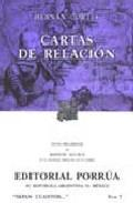 Libro CARTAS DE RELACION
