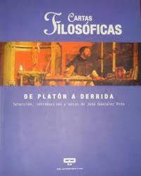 Libro CARTAS FILOSOFICAS: DE PLATON A DERRIDA