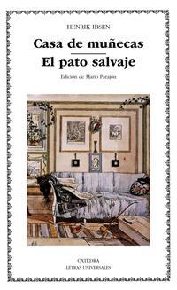 Libro CASA DE MUÑECAS; EL PATO SALVAJE