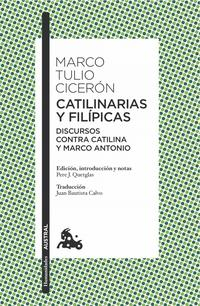 Libro CATILINARIAS Y FILIPICAS