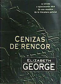 Libro CENIZAS DE RENCOR